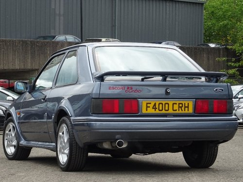 1988 Ford Escort 1.6 Turbo RS 3dr For Sale (picture 2 of 6)