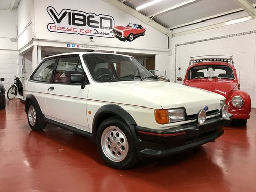 1988 Ford Fiesta XR2 Totally Original - 2 Owners - 40k Miles For Sale (picture 1 of 6)