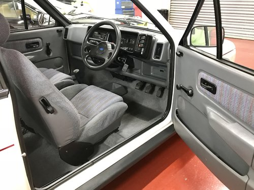 1988 Ford Fiesta XR2 Totally Original - 2 Owners - 40k Miles For Sale (picture 2 of 6)