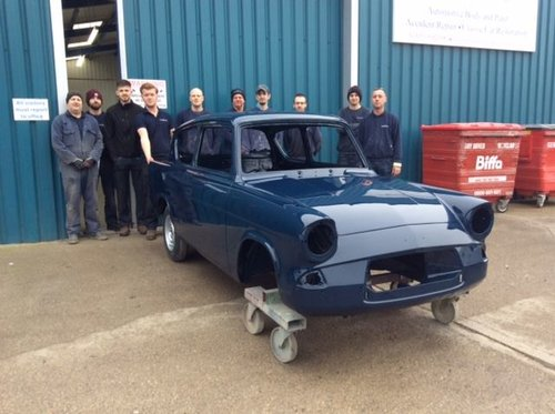 1962 Ford Anglia 105E - 6400 miles from new  SOLD (picture 4 of 6)