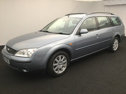 2001 FORD MONDEO 1.8 ZETEC ESTATE MK3 LOW MILEAGE IMMACULATE  SOLD (picture 1 of 6)