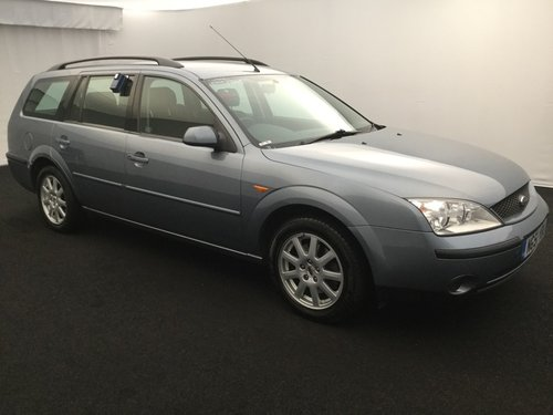 2001 FORD MONDEO 1.8 ZETEC ESTATE MK3 LOW MILEAGE IMMACULATE  SOLD (picture 2 of 6)