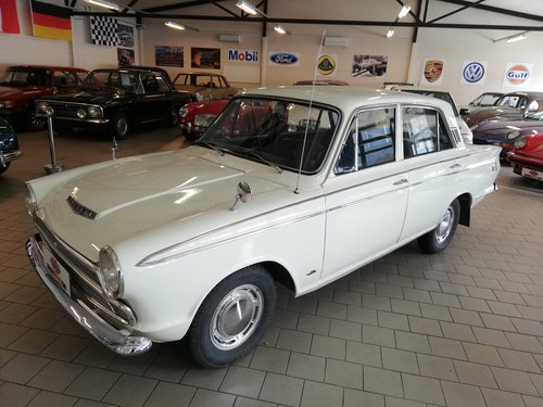 Ford Cortina 1500GT, 1965 4-door. For Sale (picture 1 of 6)