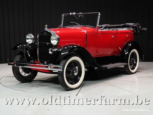 1929 Ford A Pheaton Torpedo '29 For Sale (picture 1 of 6)