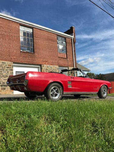 1967 Ford Mustang convertible  For Sale (picture 2 of 6)