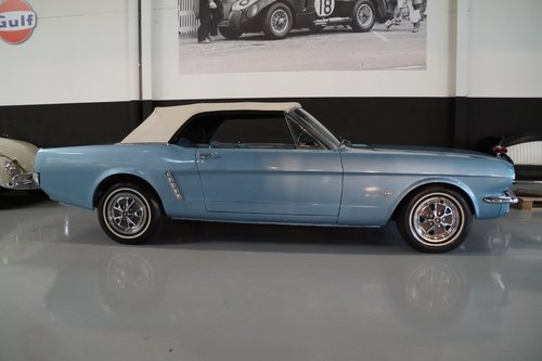 FORD MUSTANG V8 Convertible (1965) For Sale (picture 5 of 6)