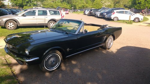1966 Mustang Convertible For Sale (picture 1 of 4)
