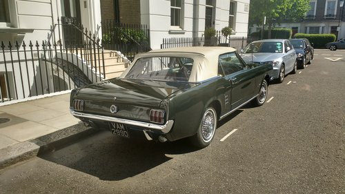 1966 Mustang Convertible For Sale (picture 2 of 4)