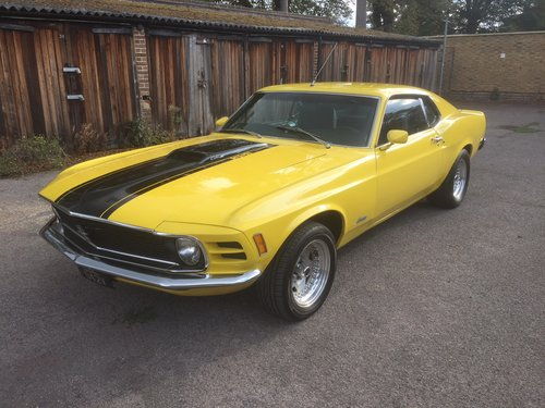 1970 Ford Mustang Fastback 351 Cleveland V8 Auto For Sale (picture 3 of 6)