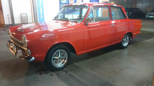 1966 Ford Cortina mk1 2 door For Sale (picture 1 of 6)