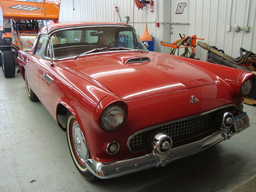 1955 Ford Thnderbird Convertible For Sale (picture 1 of 6)