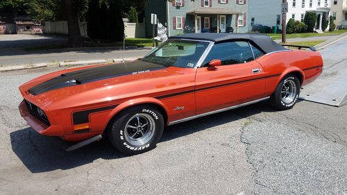 1972 Mustang Convertible For Sale (picture 1 of 6)