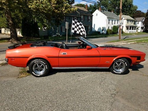1972 Mustang Convertible For Sale (picture 2 of 6)