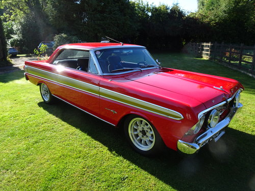 Ford Falcon Sprint (Paxton Supercharged)  1964 For Sale (picture 6 of 6)