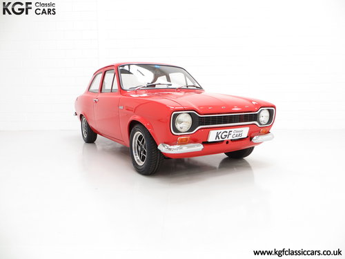 1973 A Collectable Very Rare AVO Mk1 Ford Escort RS1600  SOLD (picture 1 of 6)