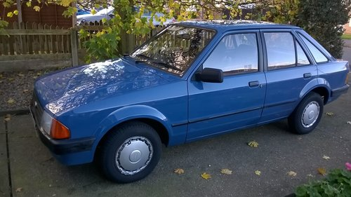 1984 Ford Escort Mk3 42000 miles from new SOLD (picture 1 of 6)