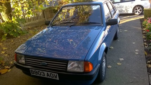 1984 Ford Escort Mk3 42000 miles from new SOLD (picture 2 of 6)