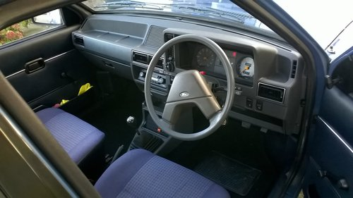1984 Ford Escort Mk3 42000 miles from new SOLD (picture 3 of 6)