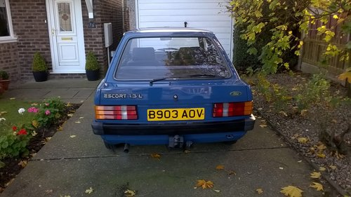 1984 Ford Escort Mk3 42000 miles from new SOLD (picture 5 of 6)