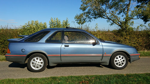 1984 Ford Sierra XR4i, low owners & miles For Sale (picture 1 of 6)