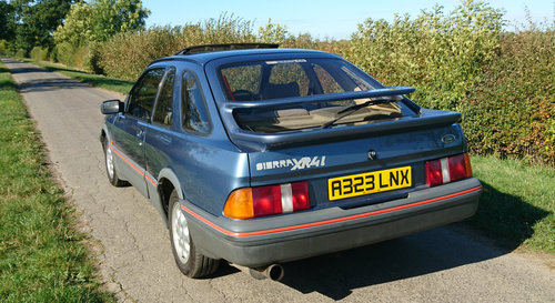 1984 Ford Sierra XR4i, low owners & miles For Sale (picture 2 of 6)