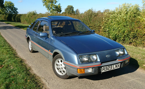 1984 Ford Sierra XR4i, low owners & miles For Sale (picture 3 of 6)