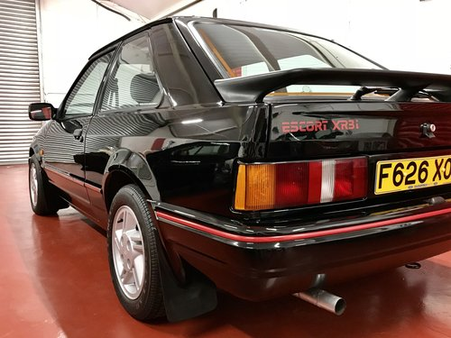 1988 Ford Escort XR3i - 24k Miles - SOLD SIMILAR REQUIRED For Sale (picture 4 of 6)