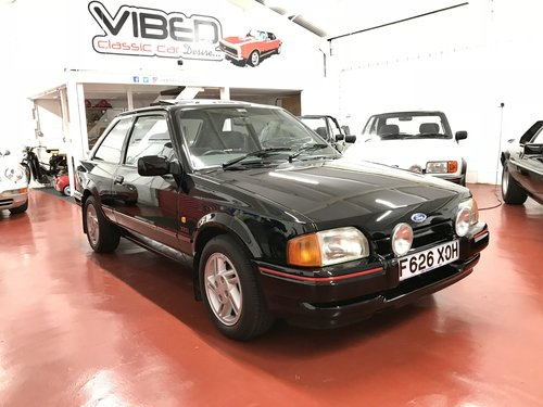 1988 Ford Escort XR3i - 24k Miles - SOLD SIMILAR REQUIRED For Sale (picture 1 of 6)