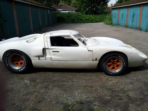 Gt40 Replica Project Sold Car And Classic