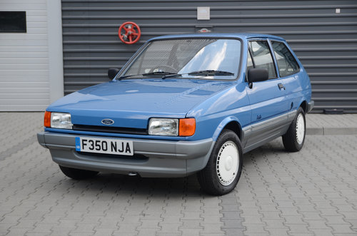 1989 Ford Fiesta Festival II 2252 miles ! For Sale (picture 1 of 5)