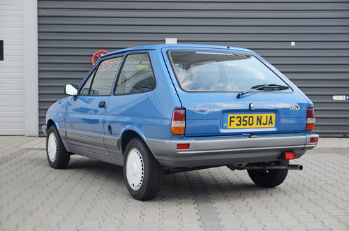 1989 Ford Fiesta Festival II 2252 miles ! For Sale (picture 2 of 5)