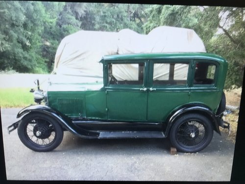 1928 ford model a for  door sedan SOLD (picture 1 of 4)
