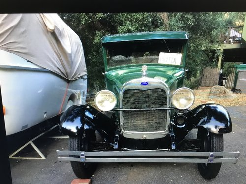 1928 ford model a for  door sedan SOLD (picture 2 of 4)
