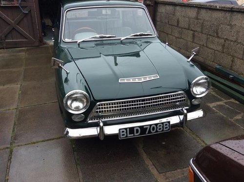 1964 mk1 cortina consul 1.5 auto mot,d  need to go For Sale (picture 1 of 6)
