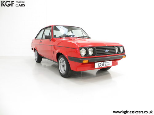 1977 A Ford Escort Mk2 RS2000 Pre Custom in Immaculate Condition SOLD (picture 1 of 6)
