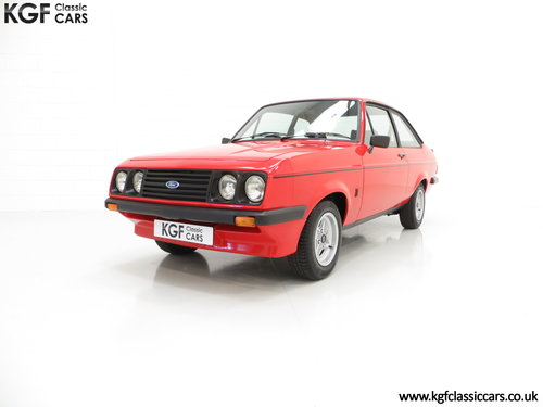 1977 A Ford Escort Mk2 RS2000 Pre Custom in Immaculate Condition SOLD (picture 2 of 6)