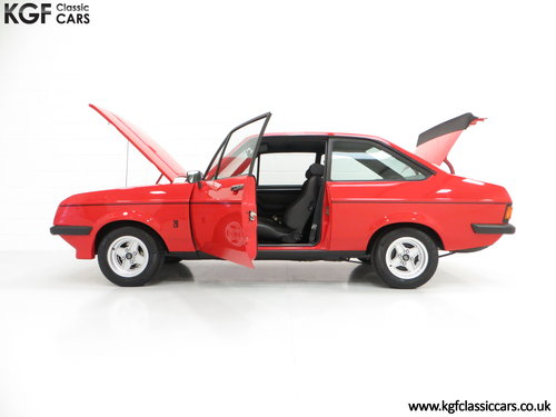 1977 A Ford Escort Mk2 RS2000 Pre Custom in Immaculate Condition SOLD (picture 3 of 6)