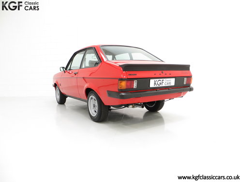 1977 A Ford Escort Mk2 RS2000 Pre Custom in Immaculate Condition SOLD (picture 4 of 6)