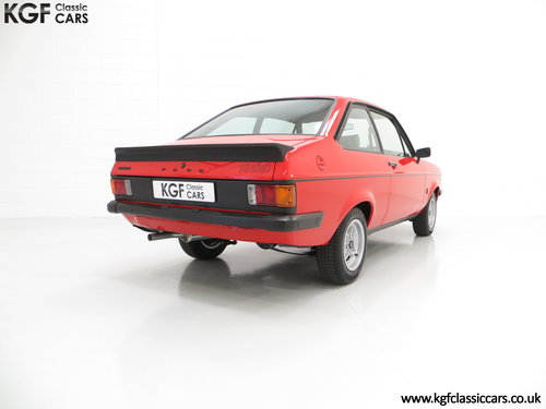 1977 A Ford Escort Mk2 RS2000 Pre Custom in Immaculate Condition SOLD (picture 5 of 6)