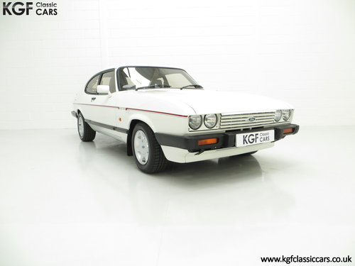 1987 A Ford Capri 2.8 Injection Special, Last Owner 22 Years SOLD (picture 1 of 6)