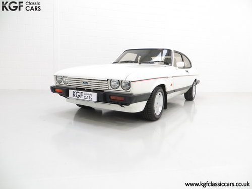 1987 A Ford Capri 2.8 Injection Special, Last Owner 22 Years SOLD (picture 2 of 6)