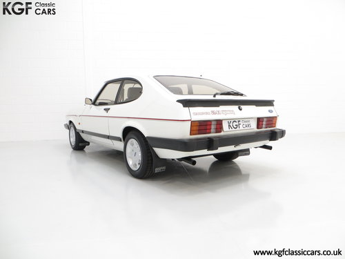1987 A Ford Capri 2.8 Injection Special, Last Owner 22 Years SOLD (picture 4 of 6)