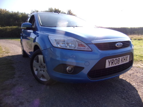 2008 Ford Focus Style 125 1.8 For Sale (picture 1 of 6)
