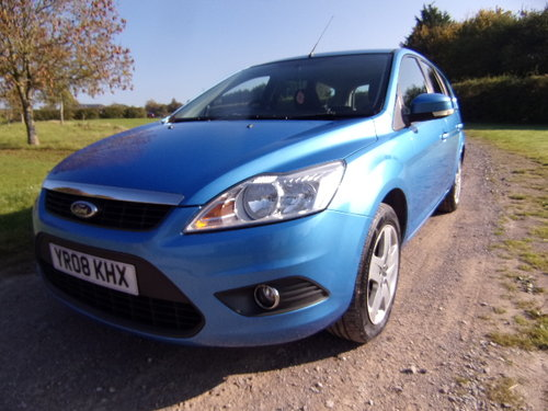 2008 Ford Focus Style 125 1.8 For Sale (picture 3 of 6)
