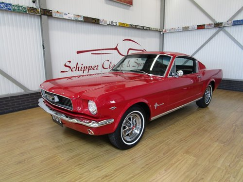 1966 Ford Mustang 289 V8 Fastback 2+2 For Sale (picture 1 of 6)