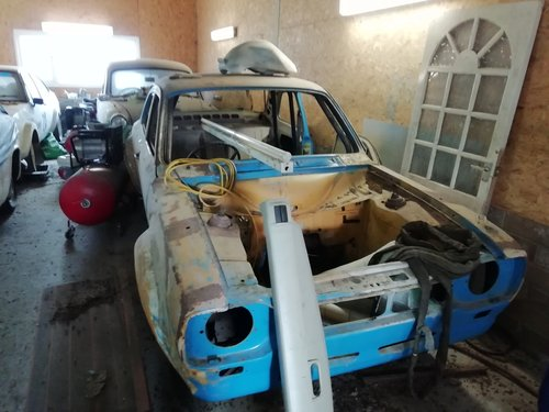1968 Mk 1 Ford Escort Rally Car Rolling shell For Sale (picture 1 of 3)