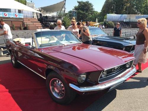 Fully restored 1968 Mustang V8 C Code Convertible For Sale (picture 1 of 5)