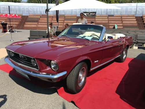 Fully restored 1968 Mustang V8 C Code Convertible For Sale (picture 2 of 5)