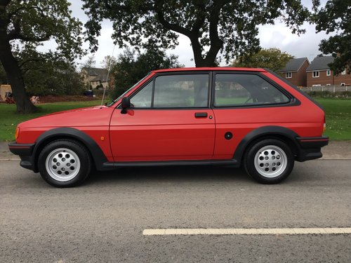 1987 FORD FIESTA 1.6. XR2, EXCEPTIONAL ORIGINAL COLLECTORS CAR!  For Sale (picture 1 of 6)