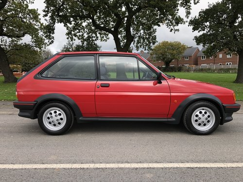 1987 FORD FIESTA 1.6. XR2 EXCEPTIONAL AND ORIGINAL COLLECTORS CAR SOLD (picture 3 of 6)